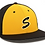 Thumbnail: STING HAT GOLD WITH S