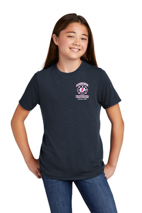 CLEARCREEK FIRE YOUTH TRIBLEND TEE