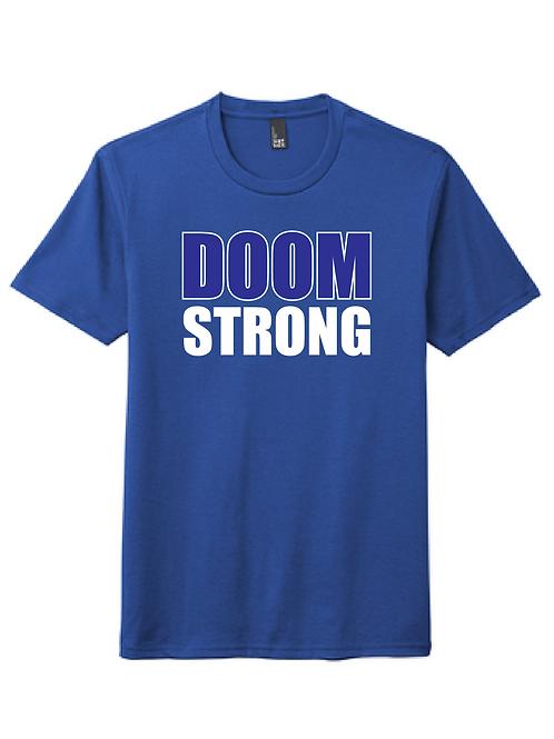 DOOM STRONG 50/50 TEE ROYAL
