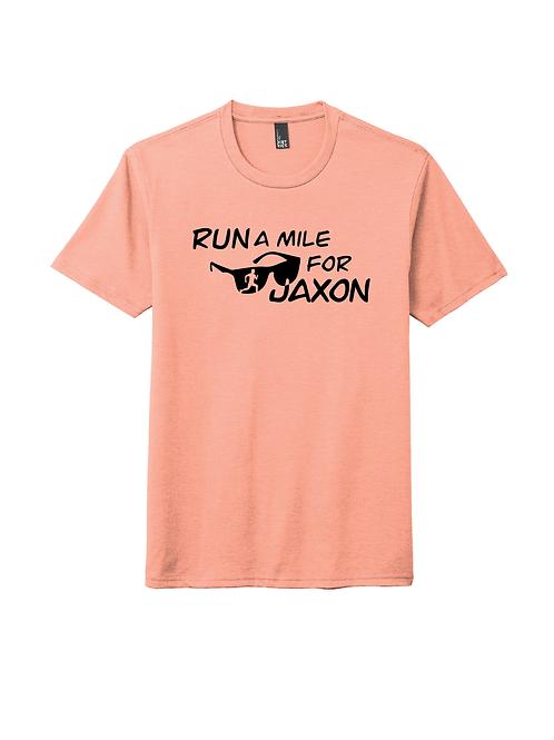 RUN FOR JAXON TEE - DUSTY PEACH