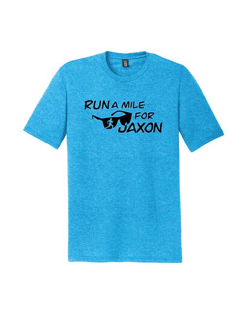 RUN FOR JAXON TEE - TURQUOISE FROST