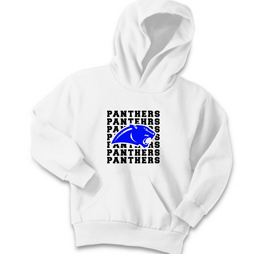 SI WHITE YOUTH HOODIE