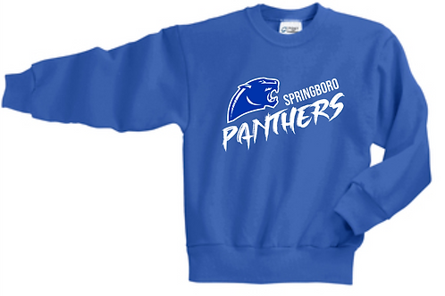 DENNIS BLUE YOUTH CREW SWEATSHIRT