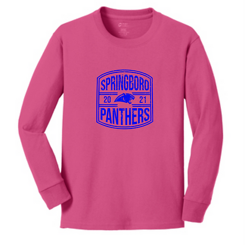 SI PINK YOUTH LONG SLEEVE