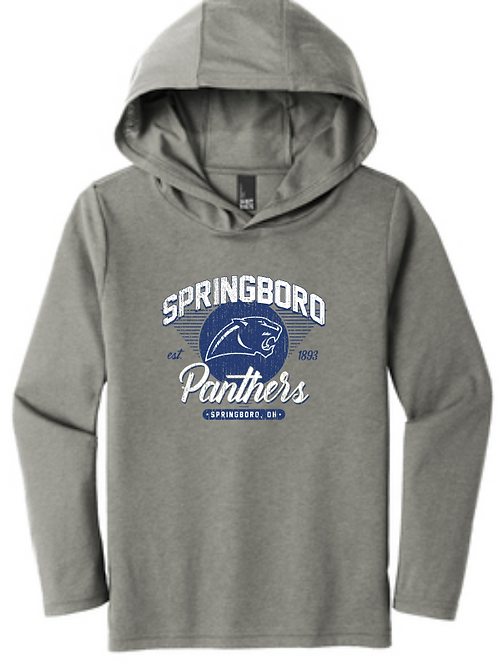 YOUTH/ADULT DISTRICT TRI-BLEND HOODIE