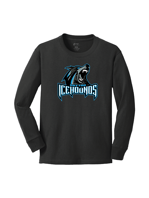 ICEHOUNDS - YOUTH LONG SLEEVE TEE