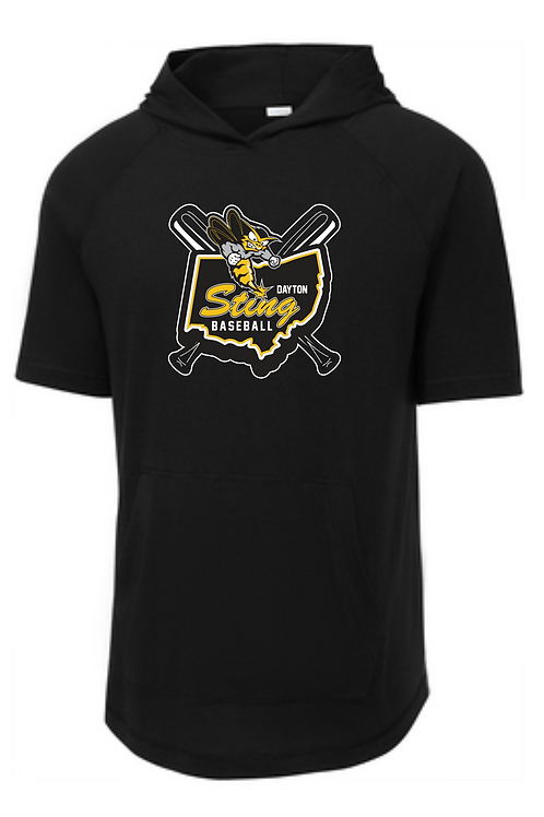 STING TRIBLEND SHORT SLEEVE HOODED TEE (ADULT)