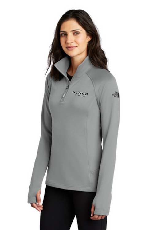 CLEARCREEK CO LADIES NORTH FACE 1/4 ZIP