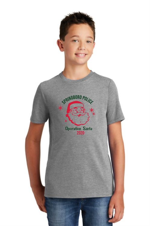 OPERATION SANTA YOUTH TRIBLEND TEE
