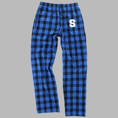 DENNIS YOUTH BOXERCRAFT FLANNEL PANTS BLUE
