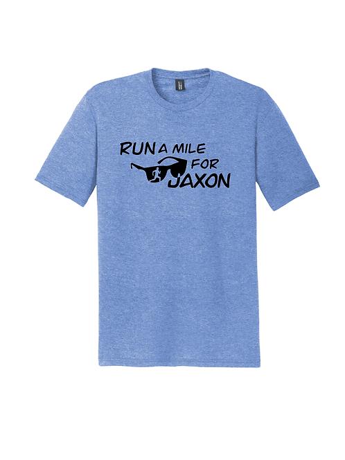 RUN FOR JAXON TEE - MARITIME FROST