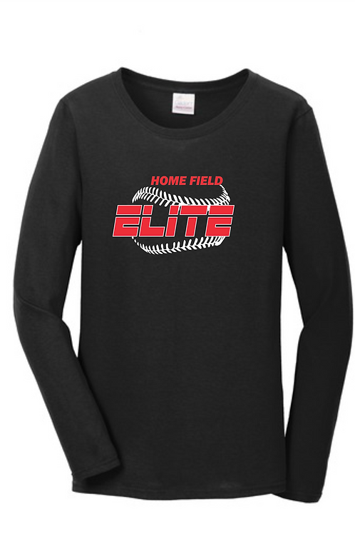 LADIES 100% COTTON LONG SLEEVE