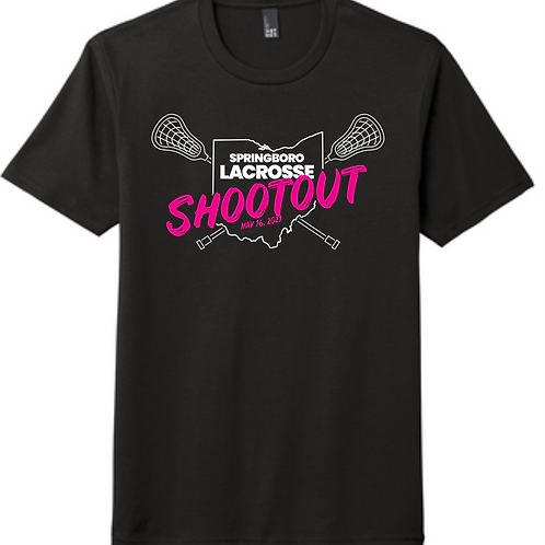 LACROSSE SHOOTOUT - GIRLS TOURNEY 50/50 YOUTH TEE