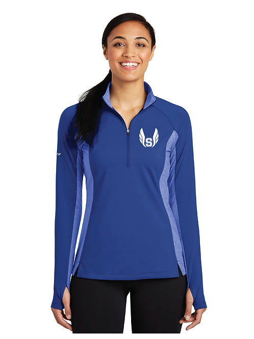BORO TRACK LADIES 3/4 ZIP