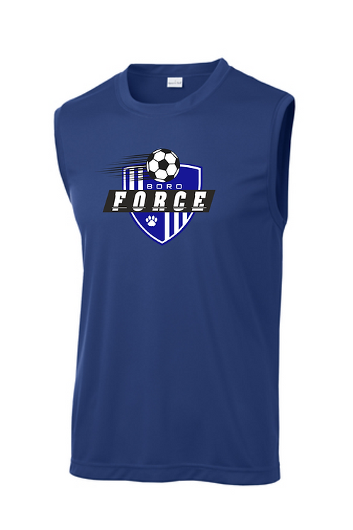 FORCE UNISEX SLEEVELESS COMPETITOR TEE