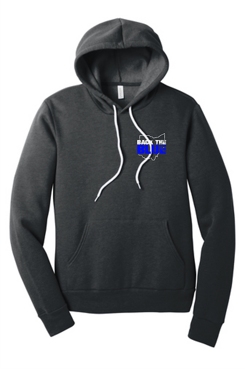 BACK THE BLUE BELLA SPONGE HOODIE
