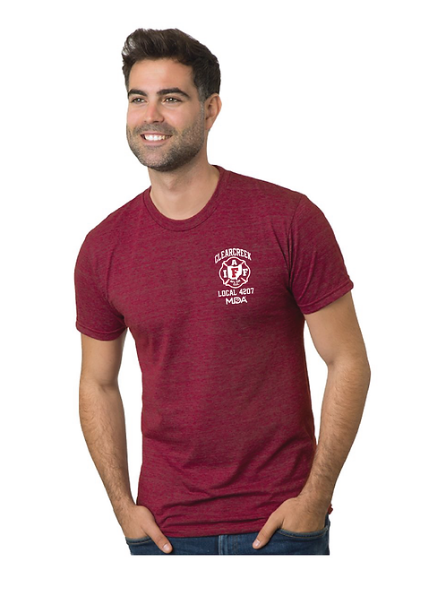 CHAPS FOR CHARITY - RED TEE