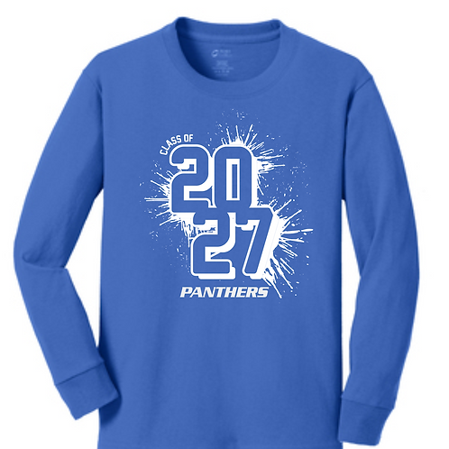 SI BLUE ADULT  LONG SLEEVE TEE