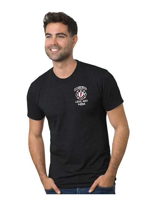 CHAPS FOR CHARITY - BLACK TEE