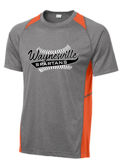 Youth/Adult Unisex Spartans Colorblock Dri-Fit Tee