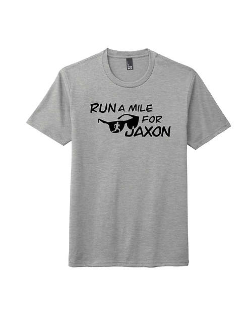 RUN FOR JAXON TEE - GREY FROST