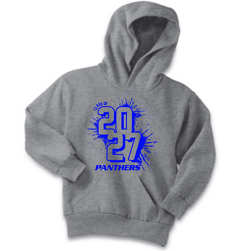 SI GRAY YOUTH HOODIE