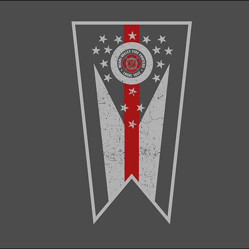 MV UNION GRAY (TEE/LS/HOODIE/CREW) W/FLAG DESIGN