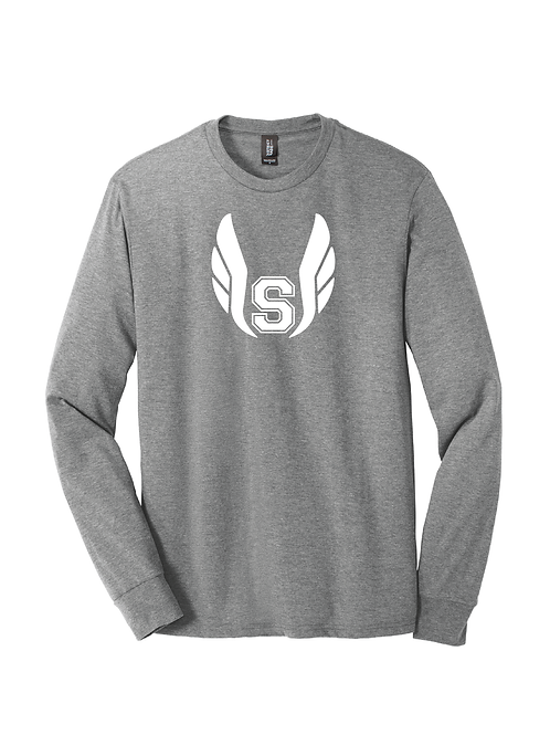 BORO TRACK TRIBLEND LONG SLEEVE TEE