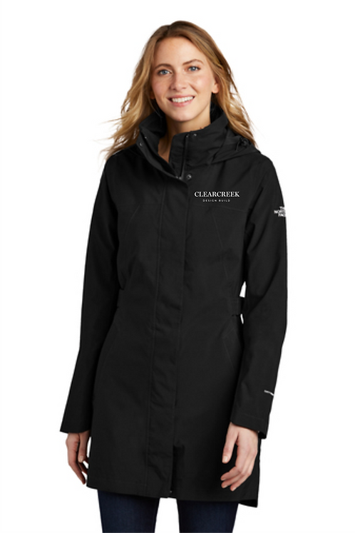 CLEARCREEK CO LADIES NORTH FACE TRENCH
