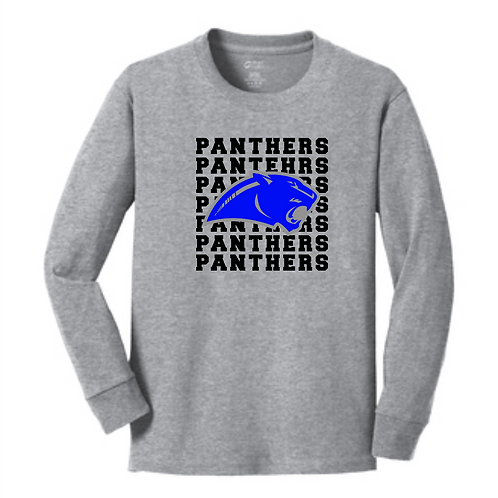 SI GRAY ADULT  LONG SLEEVE TRIBLEND TEE