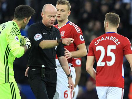 The hardest job on a pitch, the referee?