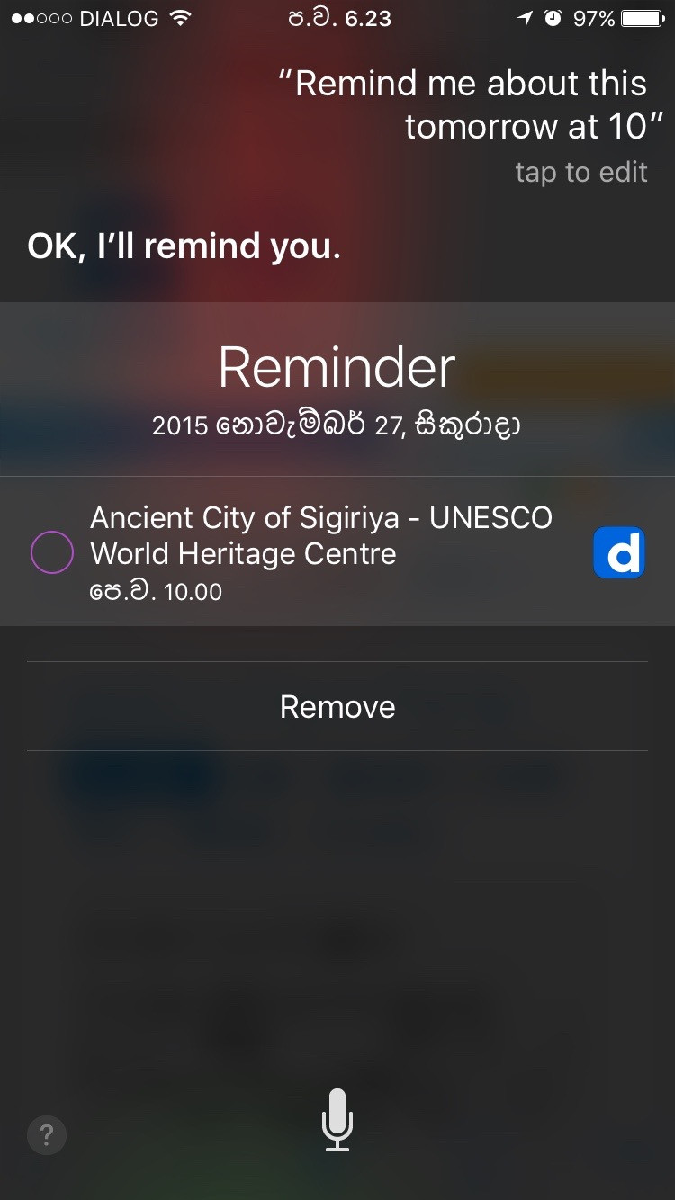Iphone Tips Tell Siri To Remind You About What You Re Looking At
