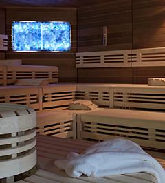 sauna de sel construction