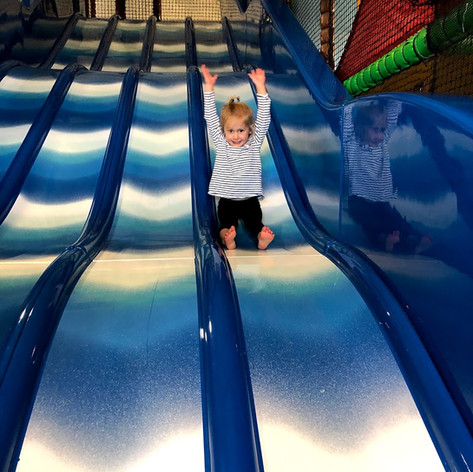 PLAYBARN SLIDES AT FARRINGTONS