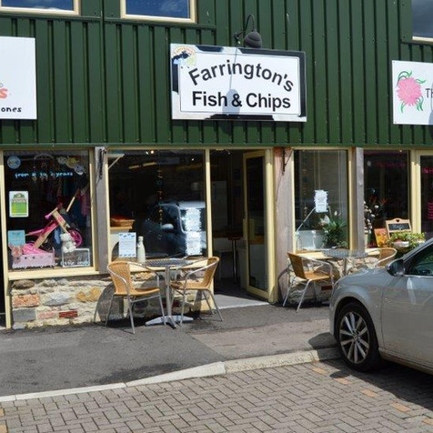 THE FISH AND CHIP SHOP AT FARRINGTONS