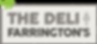 THE DELI AT FARRINGTONS LOGO