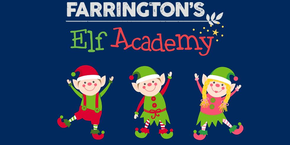The Elf Academy  - Sat 4th Dec
