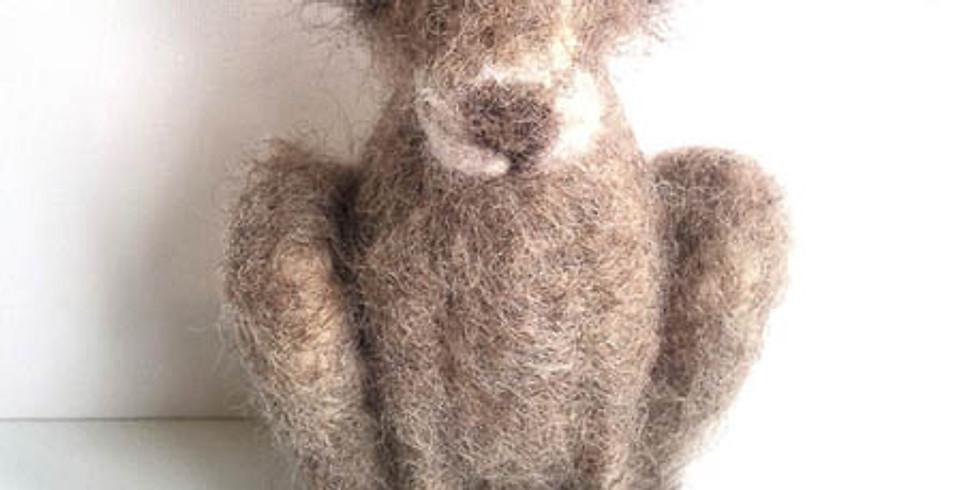 Furzie Wool Sculpture Course