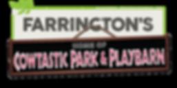 FARRINGTONS COWTASTIC PARK & PLAYBARN LOGO