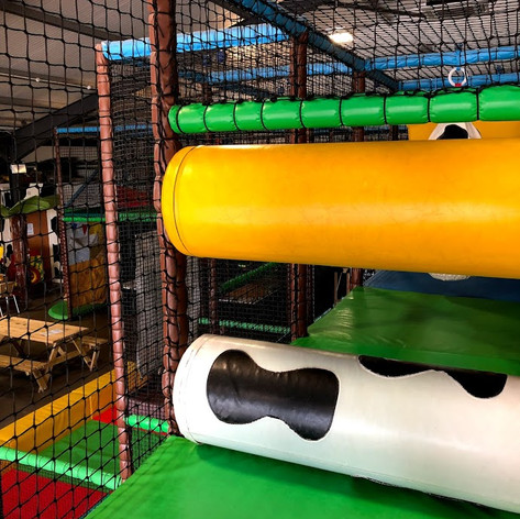 COWTASTIC PLAYBARN SOFT PLAY ROLLERS