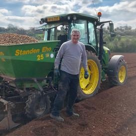 Andy Jeffrey at Farringtons Farm