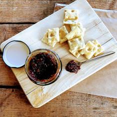 home made produce - chutney from Farringtons deli