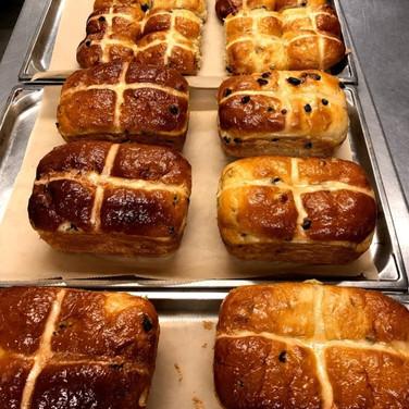 freshly baked goods at farringtons
