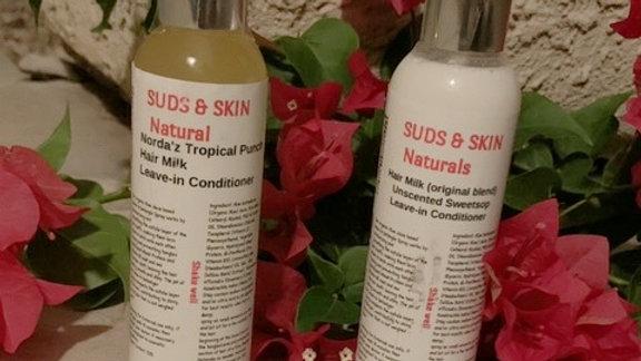 Suds and Skin Hair Milk