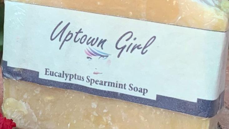 Uptown Girl Eucalyptus Spearmint Soap