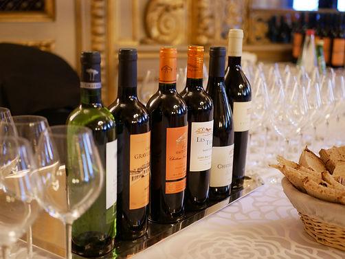 Dégustation de vin au Quai d'Orsay