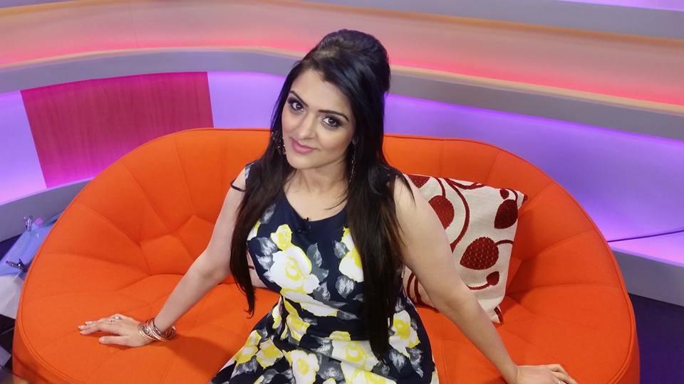 Natasha Ashgar Zee TV Presenter