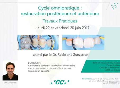 Il reste des places pour la formation Restore Chez GC France les 29 et 30 juin à Sucy en Brie!