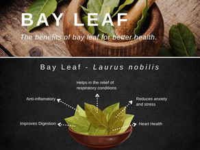 Bay Leaf: For better health: