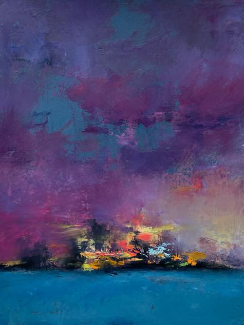 2021-5-  Reflections 'Coastal Reflections 2_- oil on paper, 9.5 x 11.5, 2021.jpeg